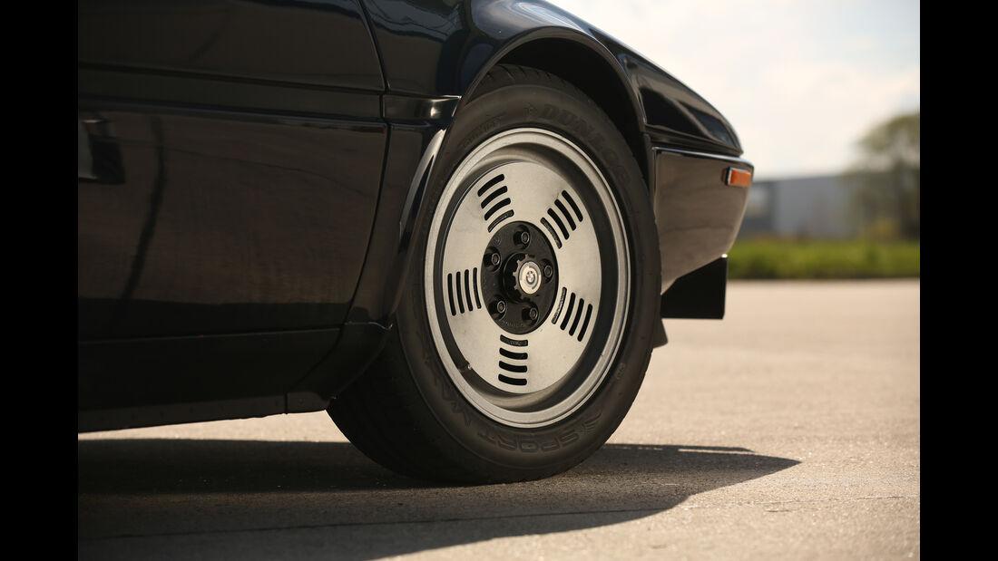 BMW M1, Rad, Felge