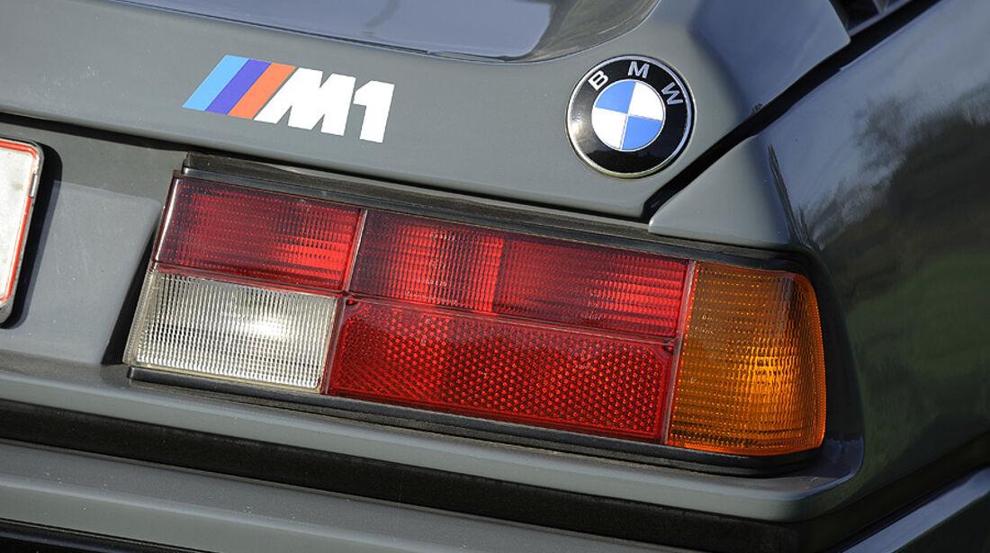 BMW M1, Rückleuchten