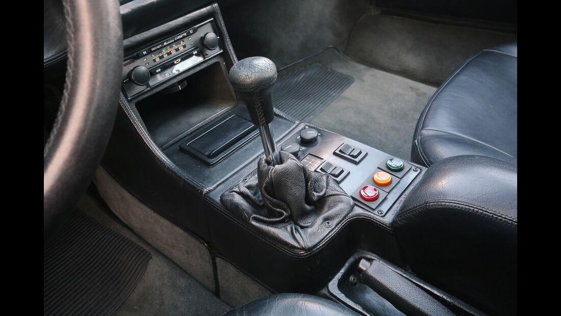 BMW M1, Schalthebel