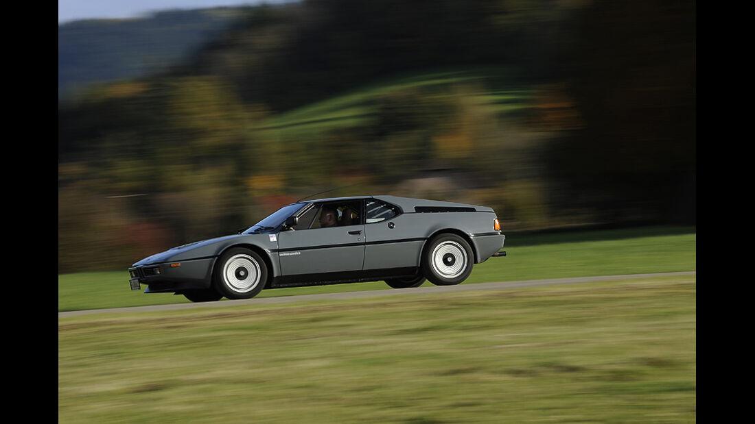 BMW M1, Seitenansicht