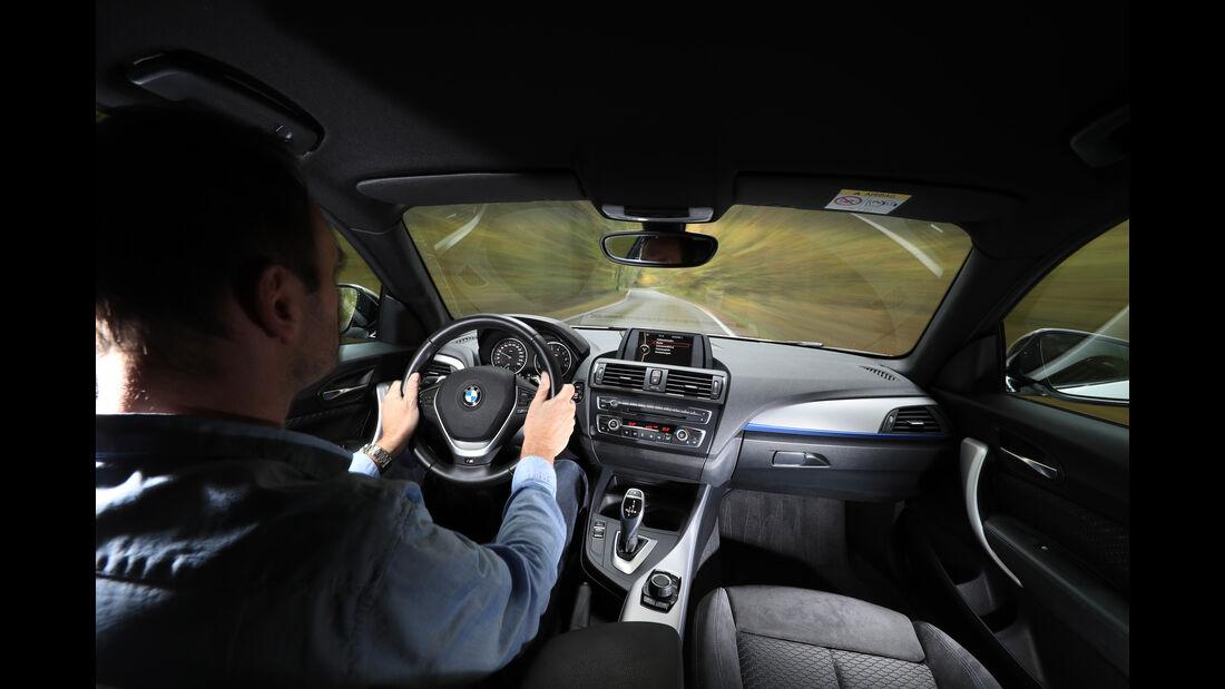 BMW M135i, Cockpit