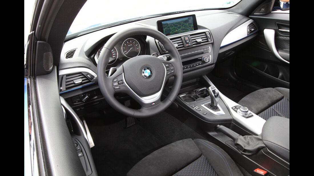 BMW M135i, Cockpit, Lenkrad