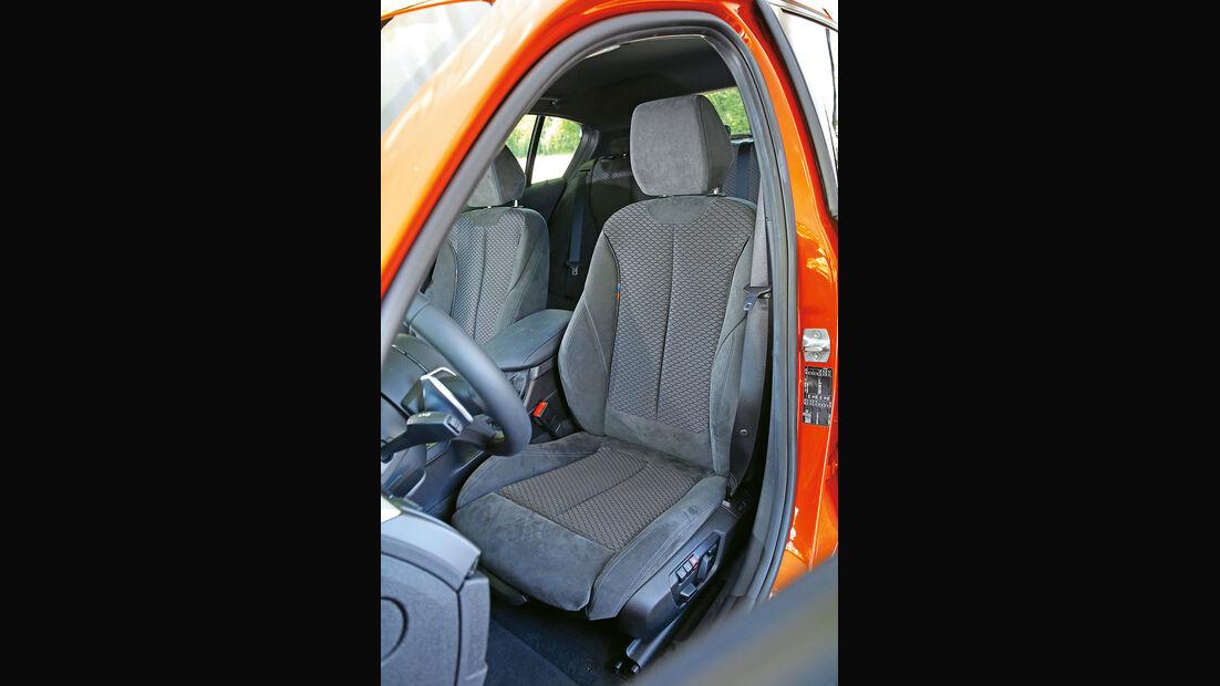 BMW M135i, Fahrersitz