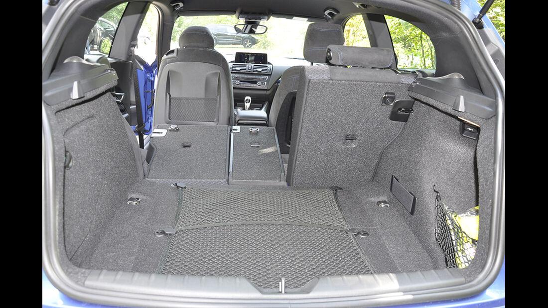 BMW M135i, Innenraum-Check, Kofferraum