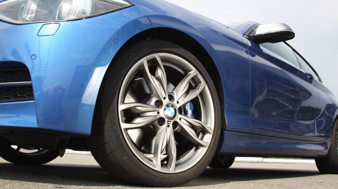 BMW M135i, Rad, Felge