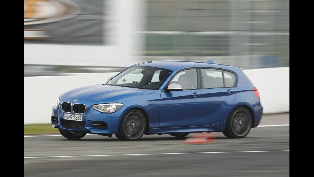 BMW M135i, Seitenansicht