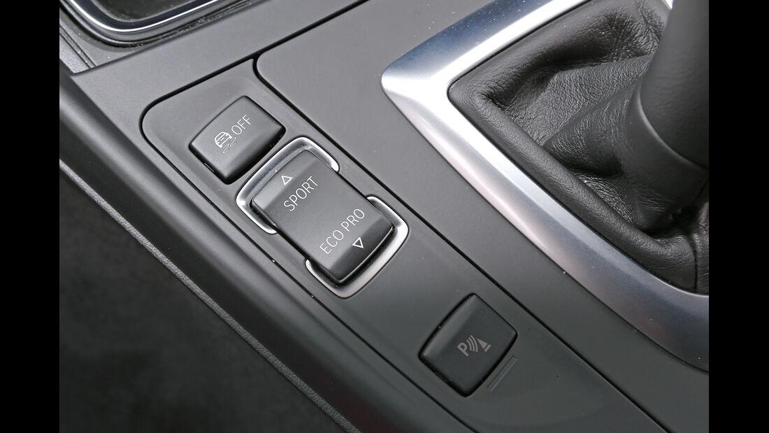 BMW M135i x-Drive, Bedienelemente