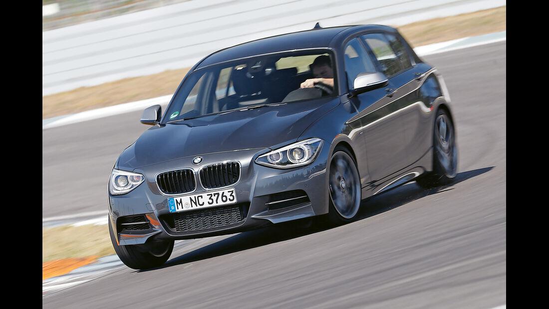 BMW M135i x-Drive, Frontansicht