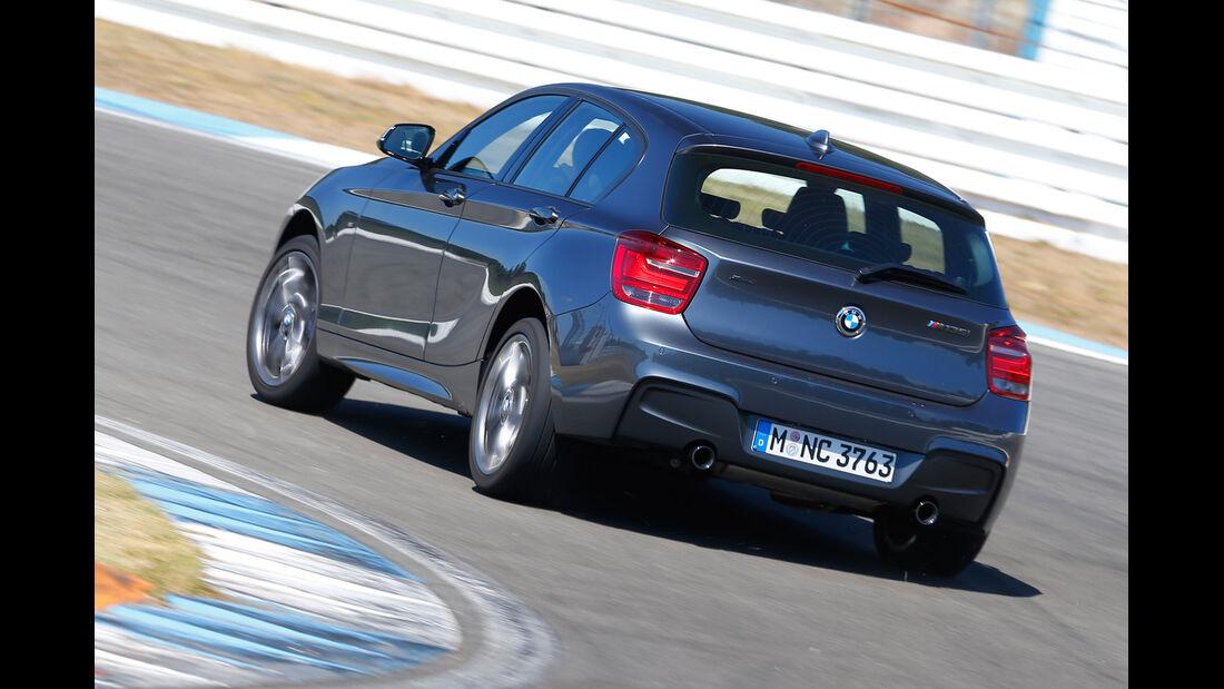 BMW M135i x-Drive, Heckansicht