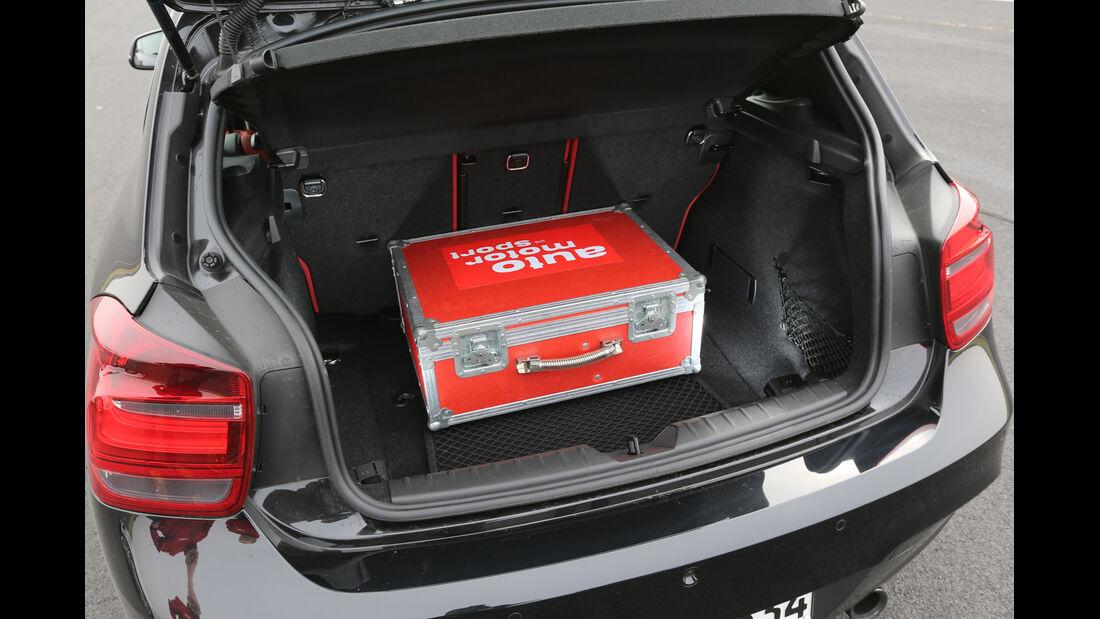 BMW M135i x-Drive, Kofferraum