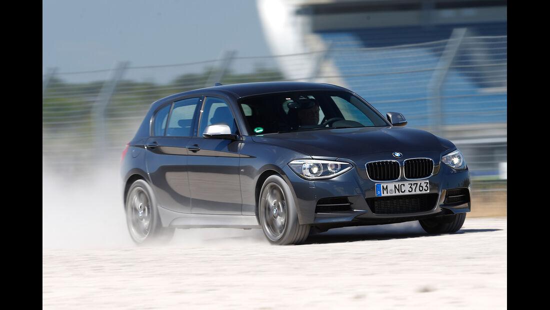BMW M135i x-Drive, Seitenansicht