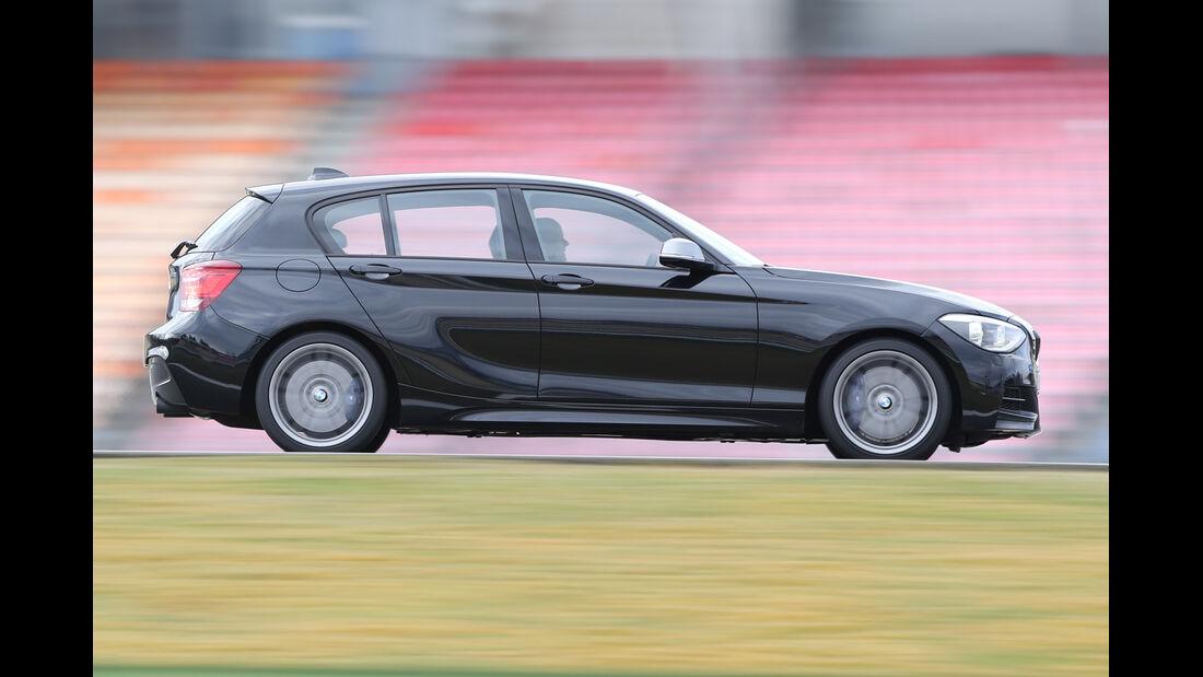 BMW M135i xDRIVE, Seitenansicht