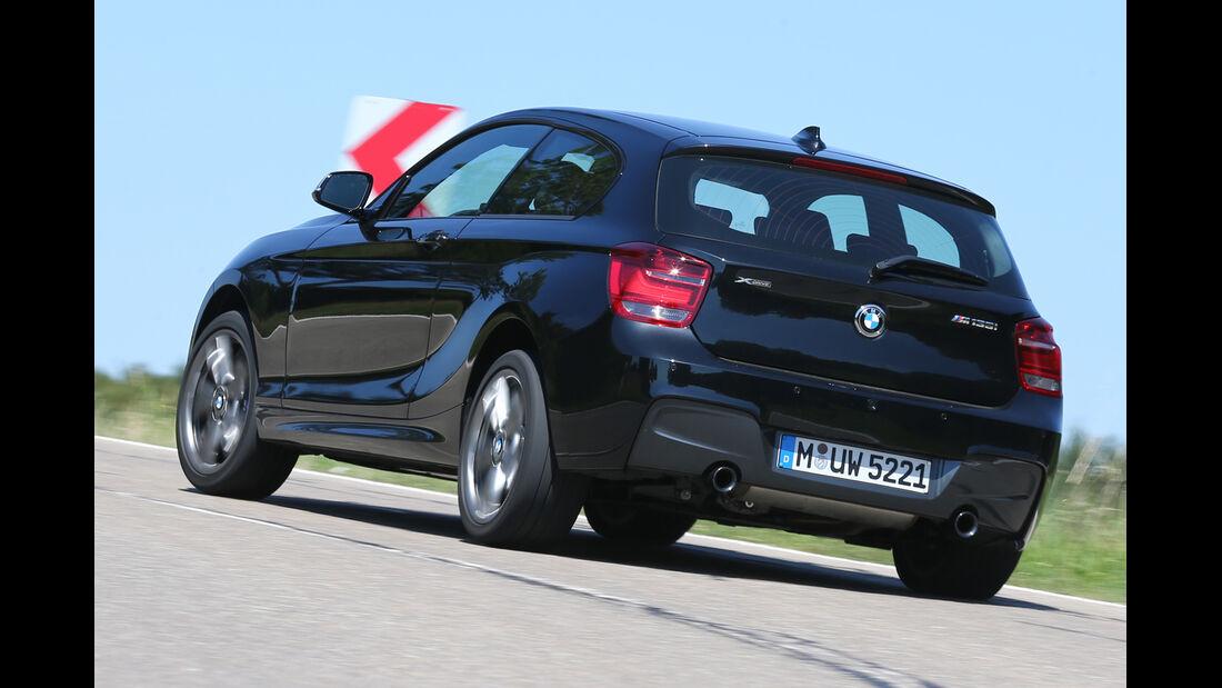 BMW M135i xDrive, Heckansicht