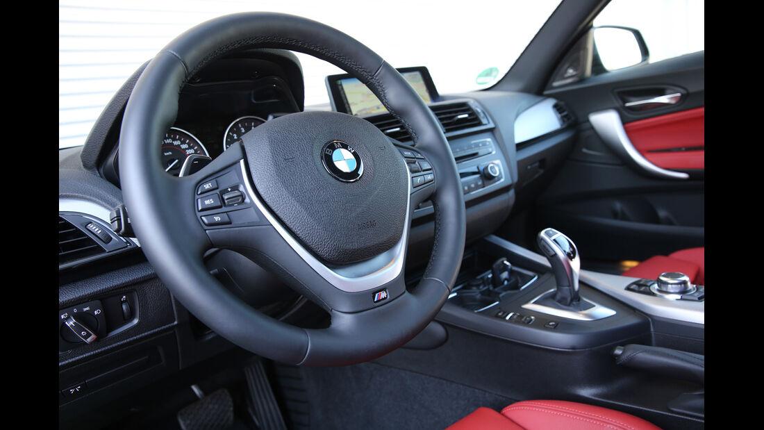 BMW M135i xDrive, Lenkrad