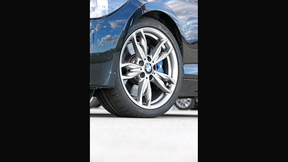 BMW M135i xDrive, Rad, Felge, Bremse