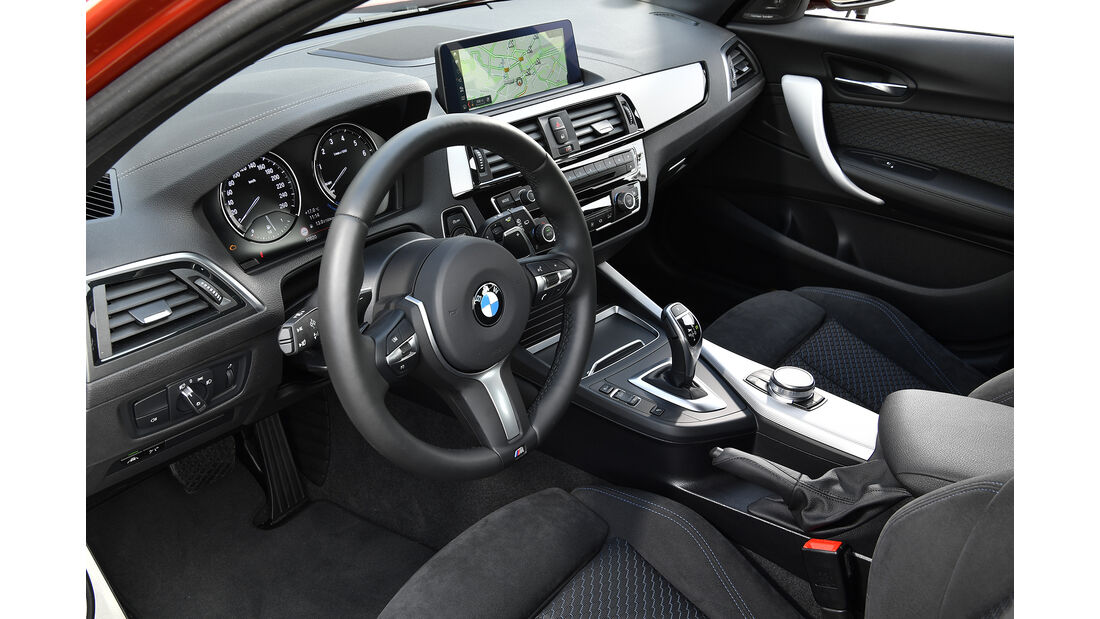 BMW M140i, Interieur