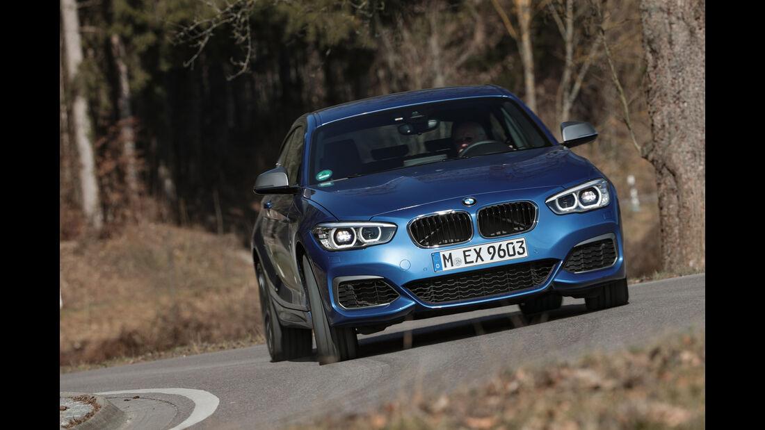 BMW M140i xDrive, Frontansicht