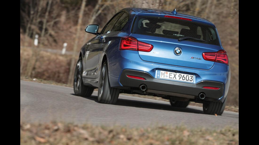 BMW M140i xDrive, Heckansicht