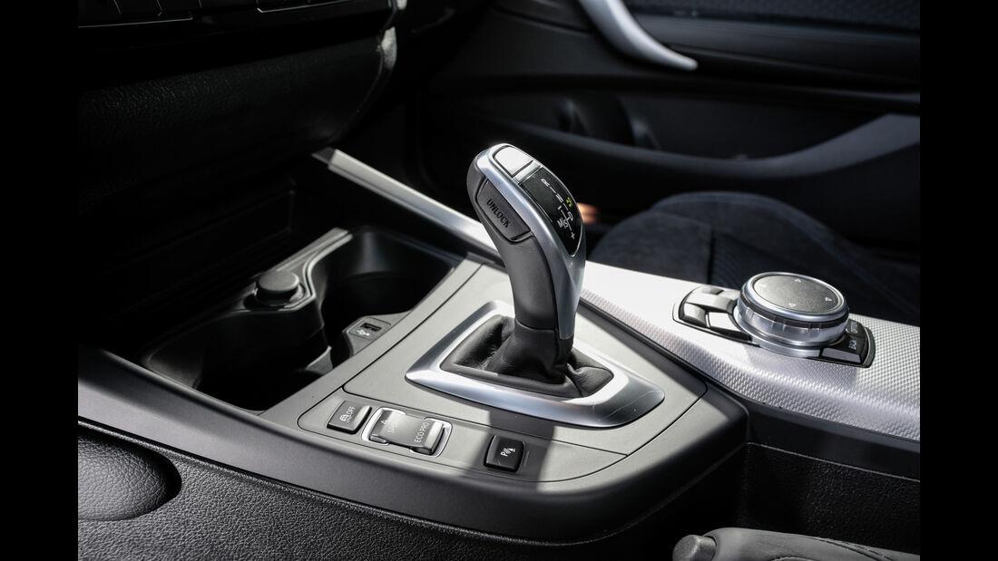 BMW M140i xDrive, Schalthebel