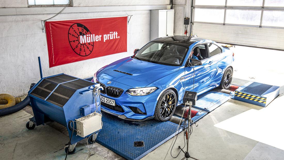 BMW M2 CS, Leistungsmessung