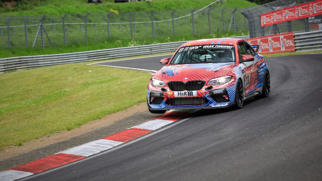 BMW M2 CS Racing - Hofor Racing by Bonk Motorsport - Startnummer #238 - Klasse: Cup 5 - 24h-Rennen - Nürburgring - Nordschleife - 03. - 06. Juni 2021