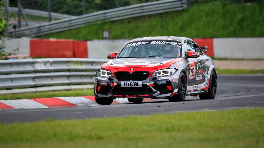 BMW M2 CS Racing - MSC Wahlscheid e.V. - Startnummer #236 - Klasse: Cup 5 - 24h-Rennen - Nürburgring - Nordschleife - 03. - 06. Juni 2021