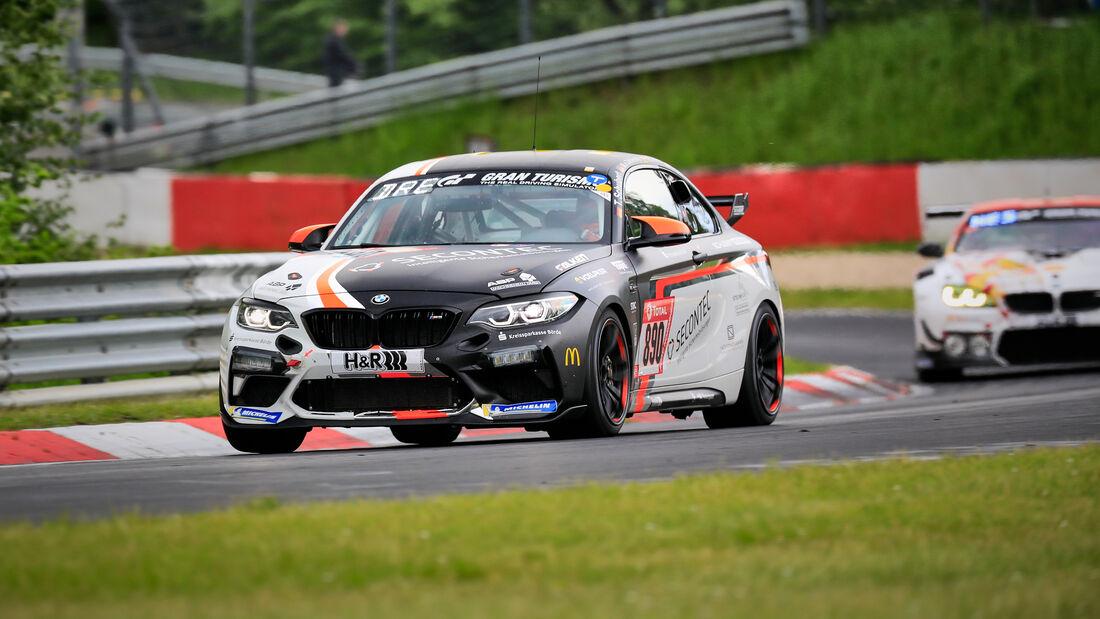BMW M2 CS Racing - Schubert Motorsport - Startnummer #890 - Klasse: Cup 5 - 24h-Rennen - Nürburgring - Nordschleife - 03. - 06. Juni 2021