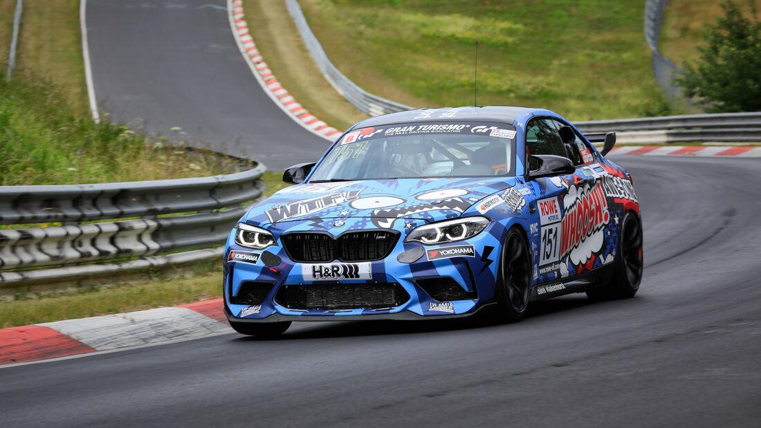 BMW M2 CS Racing - Startnummer #151 - Walkenhorst Motorsport - SP8T - NLS 2020 - Langstreckenmeisterschaft - Nürburgring - Nordschleife