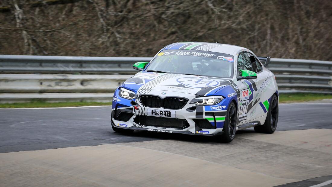 BMW M2 CS Racing - Startnummer #871 - Adrenalin Motorsport Team Alzner Automotive - Cup5 - NLS 2021 - Langstreckenmeisterschaft - Nürburgring - Nordschleife