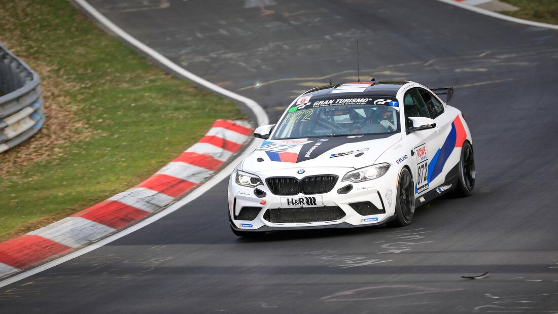 BMW M2 CS Racing - Startnummer #872 - Adrenalin Motorsport Team Alzner Automotive - Cup5 - NLS 2021 - Langstreckenmeisterschaft - Nürburgring - Nordschleife
