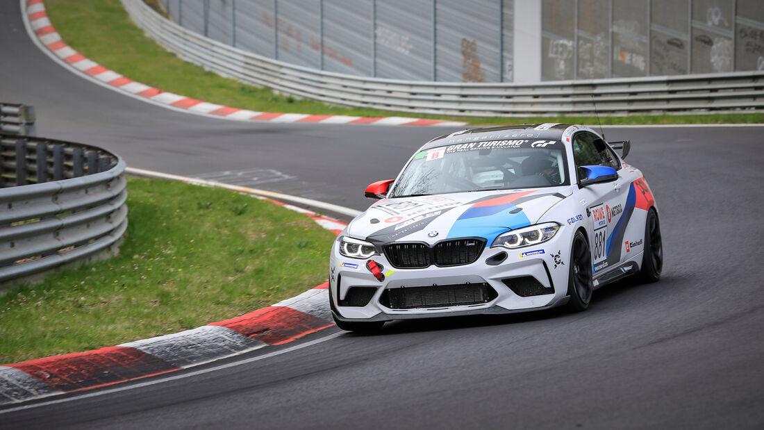 BMW M2 CS Racing - Startnummer #881 - Hangar-Zero Racing - Cup5 - NLS 2021 - Langstreckenmeisterschaft - Nürburgring - Nordschleife