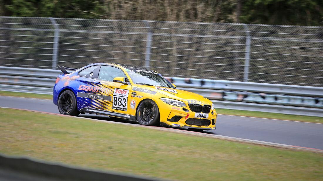 BMW M2 CS Racing - Startnummer #883 - Cup5 - NLS 2021 - Langstreckenmeisterschaft - Nürburgring - Nordschleife