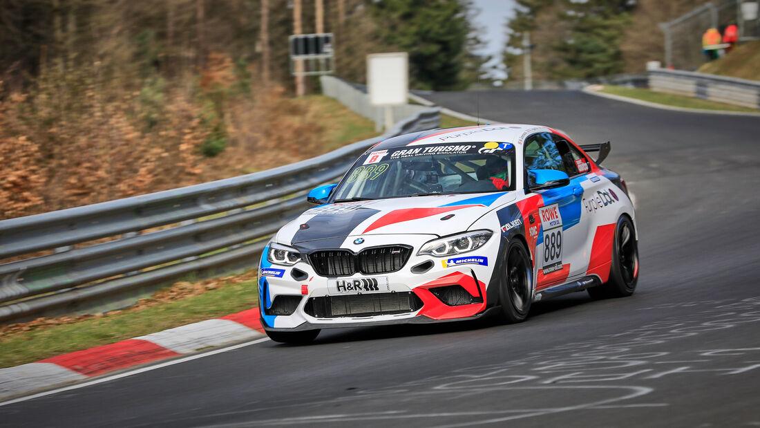 BMW M2 CS Racing - Startnummer #889 - Walkenhorst Motorsport - Cup5 - NLS 2021 - Langstreckenmeisterschaft - Nürburgring - Nordschleife