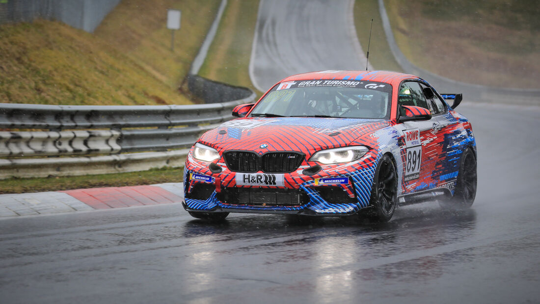 BMW M2 CS Racing - Startnummer #891 - Hofor Racing by Bonk Motorsport - Cup5 - NLS 2021 - Langstreckenmeisterschaft - Nürburgring - Nordschleife