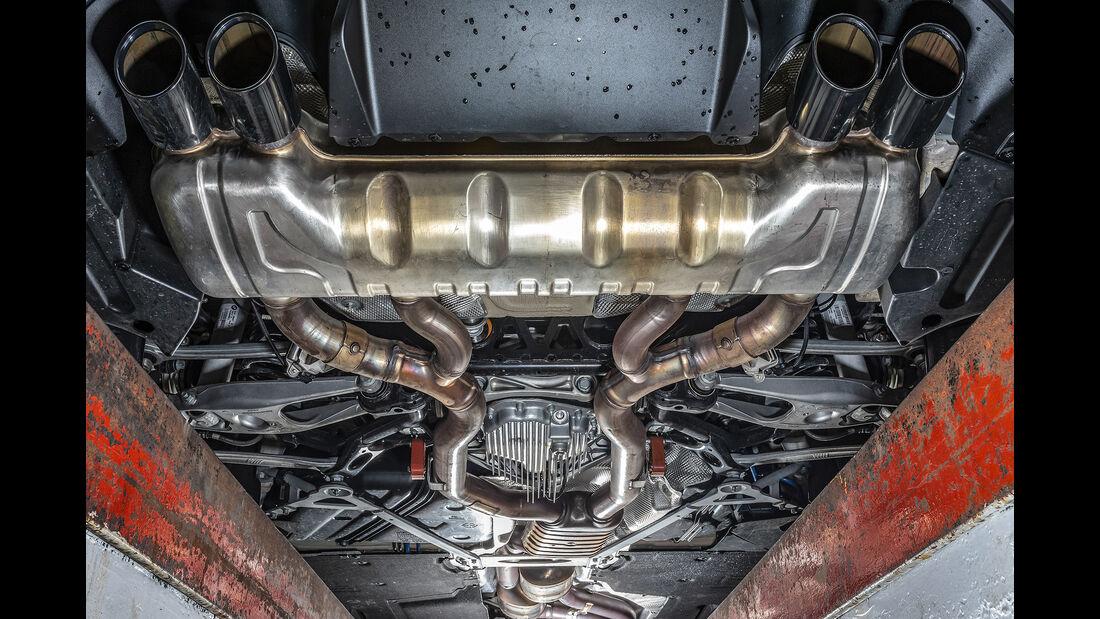 BMW M2 Competition, Abgasanlage, Auspuff