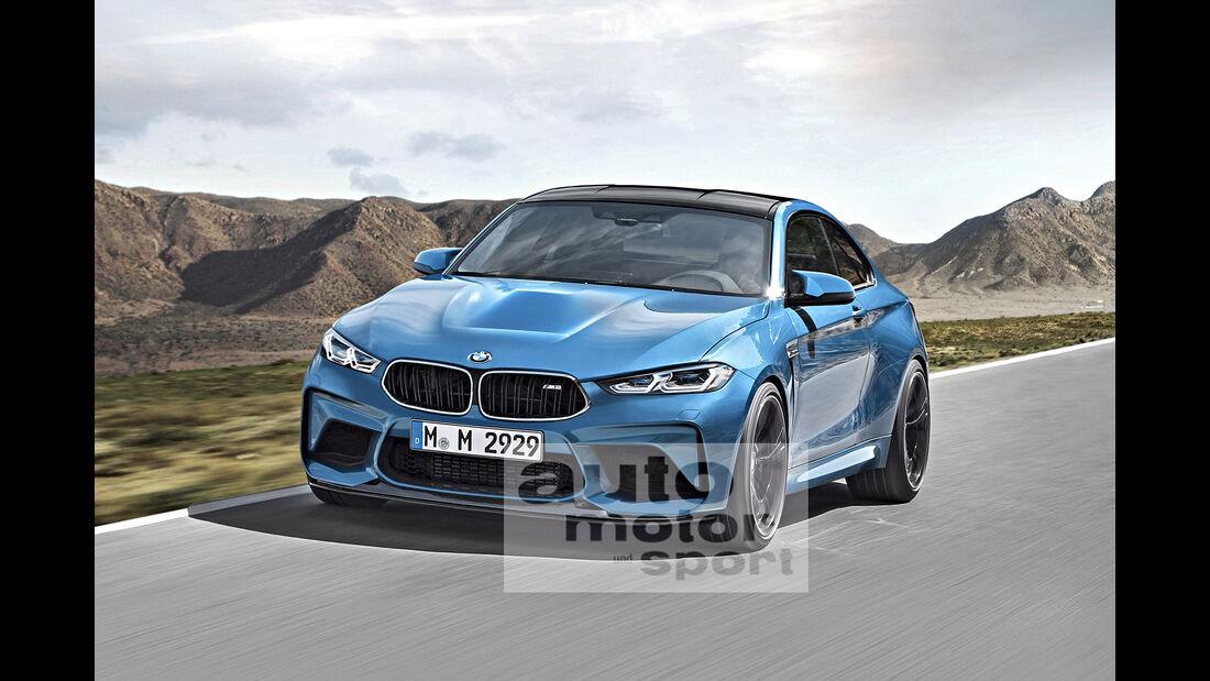BMW M2 Computer Retusche