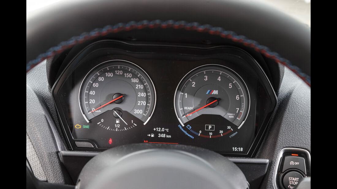 BMW M2 Coupé, Anzeigeinstrumente