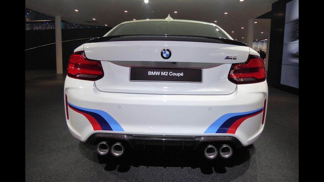 BMW M2 Coupé - Auspuff - IAA Frankfurt 2017