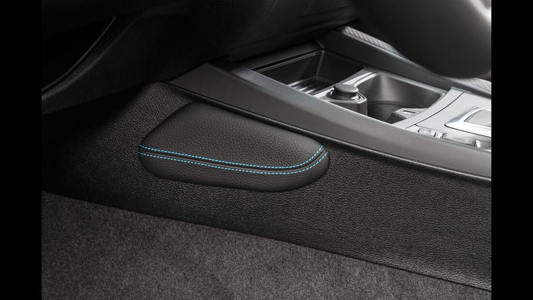 BMW M2 Coupé, Detail, Näharbeit