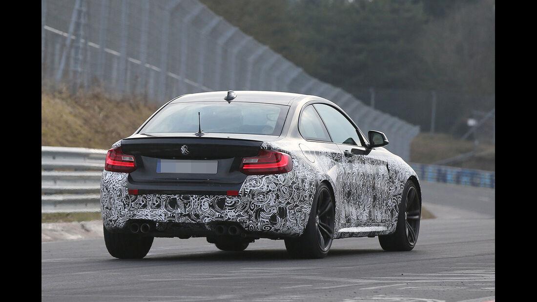 BMW M2 Coupé Erlkönig