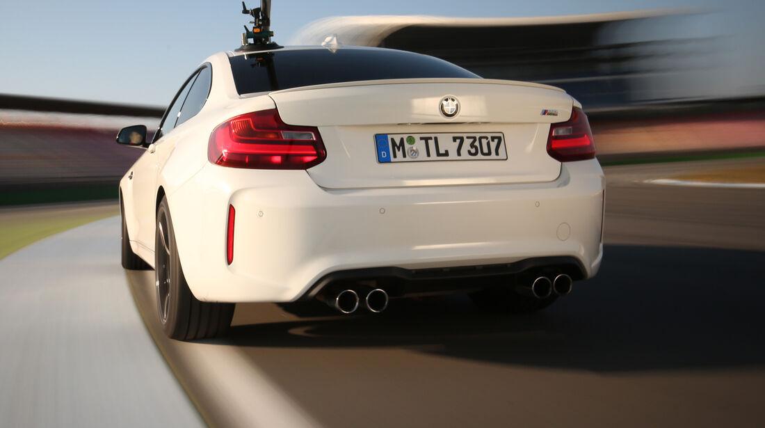 BMW M2 Coupé, Heckansicht