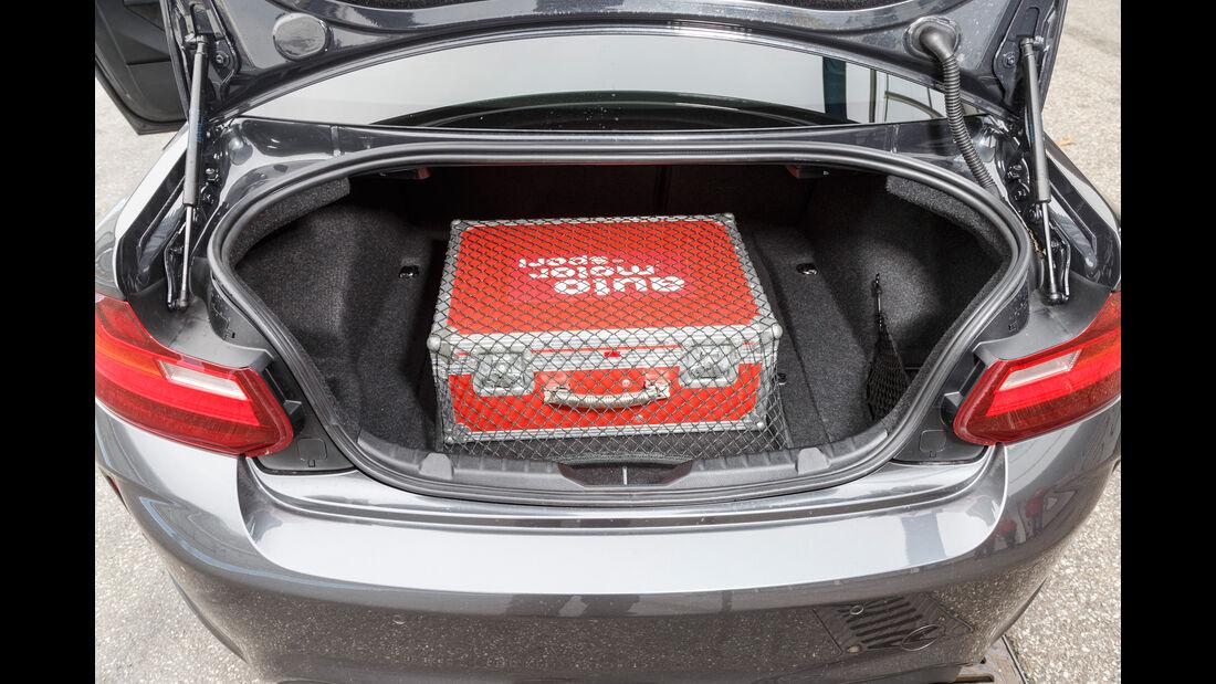 BMW M2 Coupé, Kofferraum