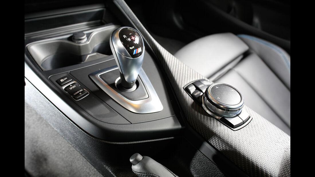 BMW M2 Coupé, Schalthebel