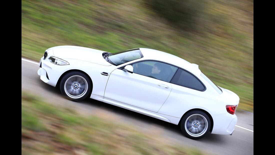 BMW M2 Coupé, Seitenansicht