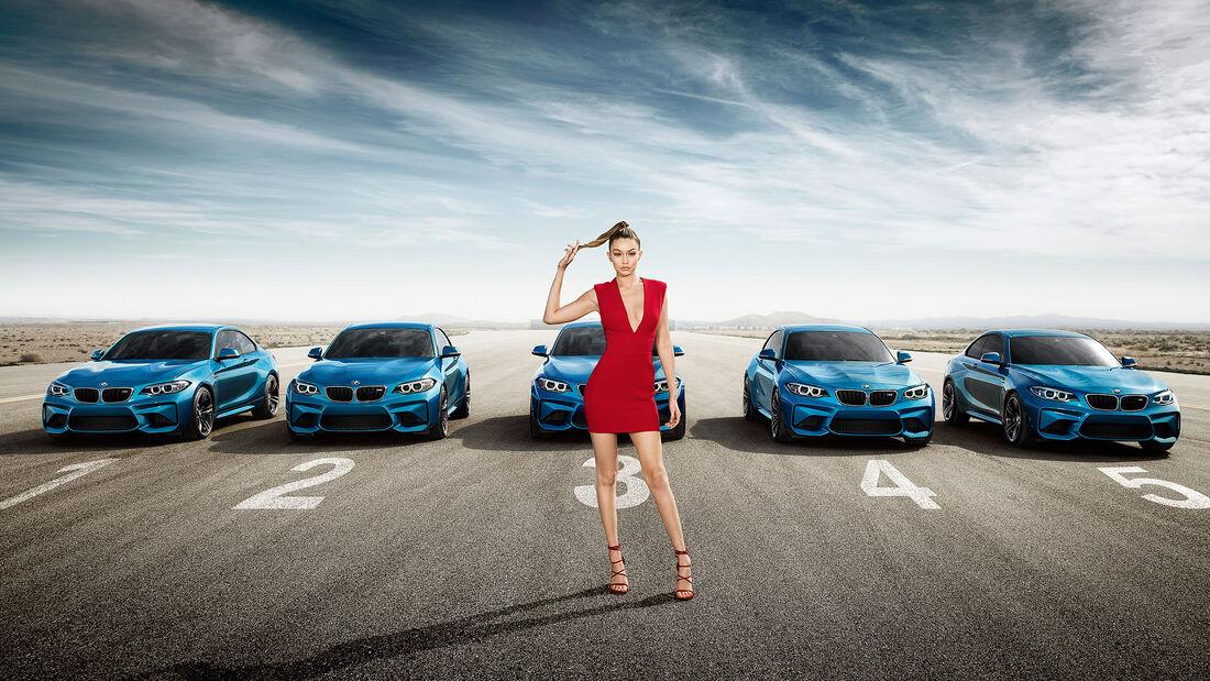BMW M2 Coupe Gigi Hadid