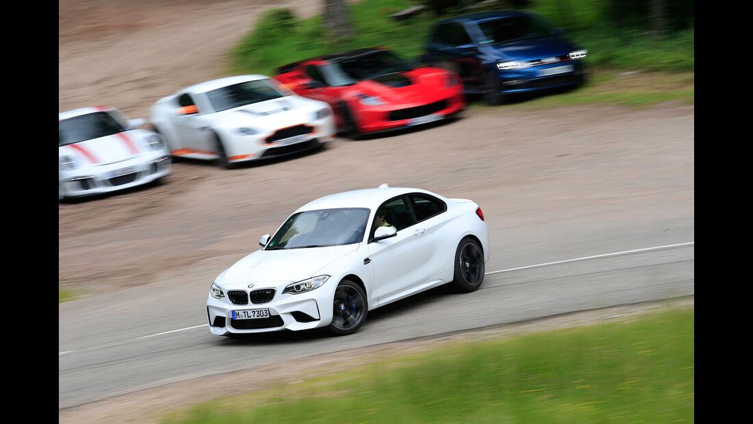 BMW M2, Driften