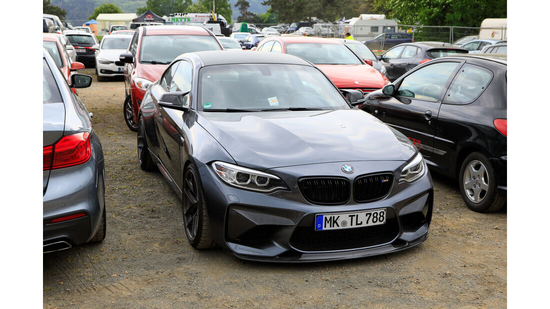 BMW M2 - Fan-Autos - 24h-Rennen Nürburgring 2018 - Nordschleife