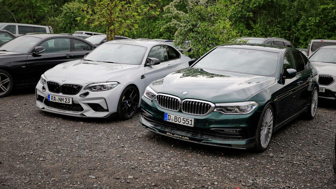 BMW M2 - Fanautos - 24h Rennen Nürburgring - Nürburgring-Nordschleife - 4. Juni 2021
