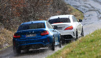 BMW M2, Mercedes-AMG CLA 45, Heckansicht