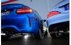 BMW M2, Mercedes-AMG CLA 45, Heckleuchte